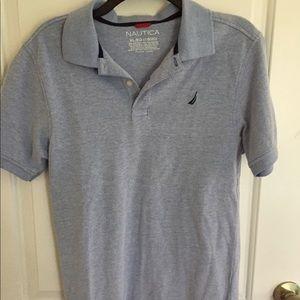 Nautica women's shirt sleeve solid polo shirt